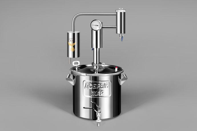 Купить самогонный аппарат добрый жар триумф 20 литров современный самогонный аппарат изготовление